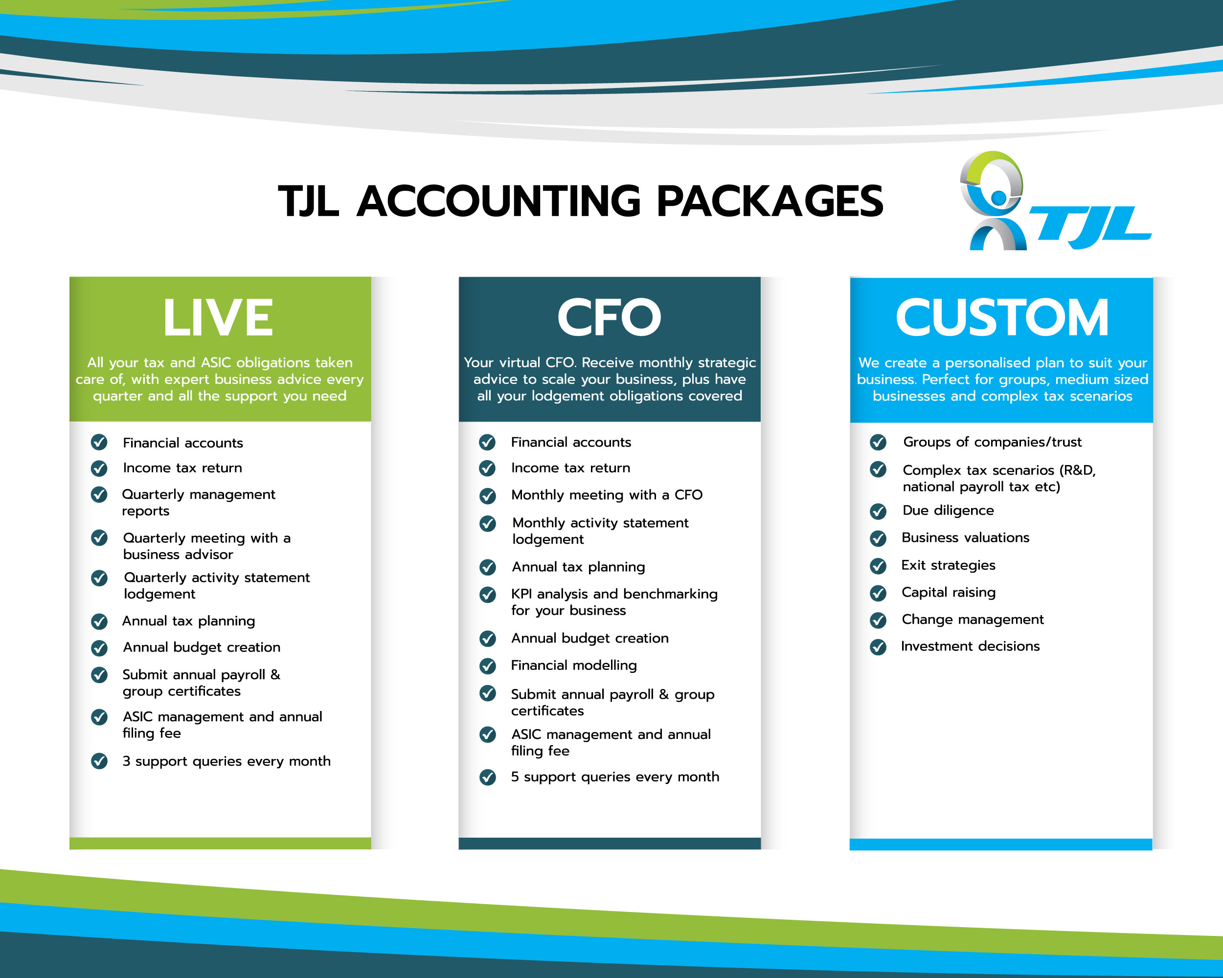 TJL - Accounting Packages